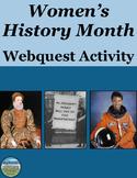 Women's History Month Webquest