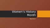 Women's History Month: Women's Suffrage
