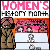 Women's History Month flip book