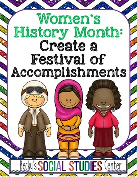 Women's History Month for Middle School - Create a Brochure of Achievements