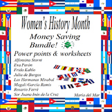 Women's History Month bundle in Spanish