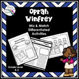 Women's History Month Oprah Winfrey Activity