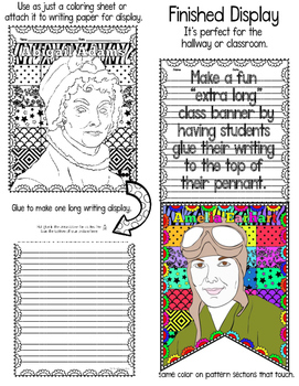 Women's History Month: Writing Activity Banner
