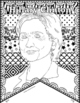 "Women's History Month: ""Pattern Portraits"": Women's History Writing Banners"