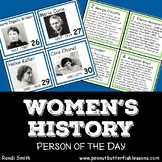 Women's History: Person of the Day Cards