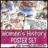 Women's History Poster Set