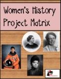 Women's History Project Matrix