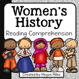 Women's History Reading Comprehension