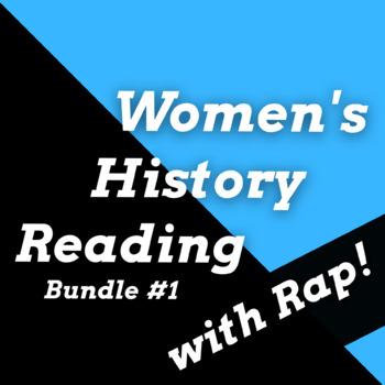Famous Women in History Activities w/ Songs: Women in History Worksheet Bundle 1