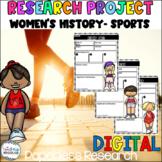 Women's History- Sports [Google Classroom Compatible]