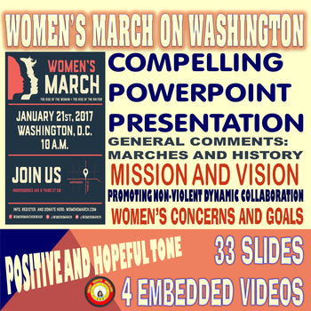 Women's March on Washington 2017 Modern Civil Disobedience
