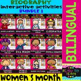 Womens Month - Interactive Activities - Bundle 1 - Bilingual