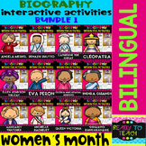 Womens Month - Interactive Activities - Bundle 1 - Bilingual