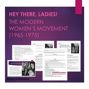 Women's Movement (1960s-1970s) Lesson Plan