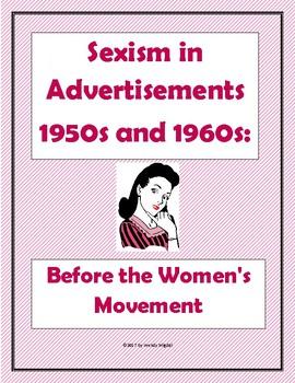 Sexism before the Women's Movement Webquest