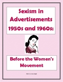 Sexism before the Women's Movement Webquest