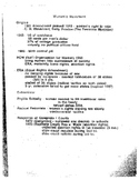 Women's Movement Student Notes Page