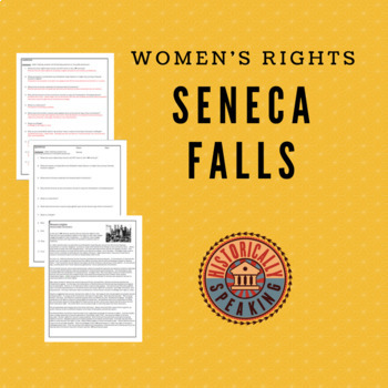 Women's Right:  The Seneca Falls Convention