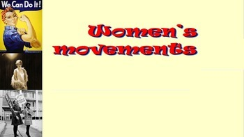Women's Rights 1950 to present