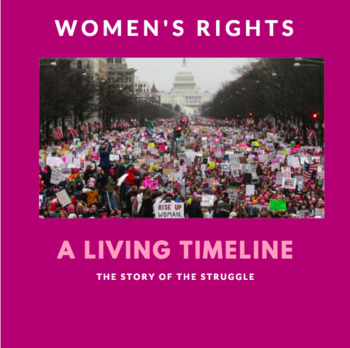 """Women's Rights """"Living Timeline"""" Assignment"""