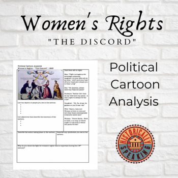 Women's Rights: Political Cartoon Analysis