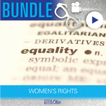 Women's Rights - Video & Activities Growing Bundle!