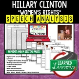 Women's Rights by Hillary R. Clinton Speech Analysis, Writ