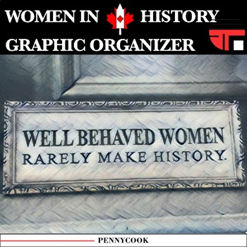 Women's Roles - Canadian History Graphic Organizer