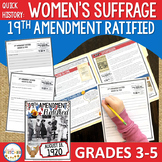 Women's Suffrage | 19th Amendment Ratified (Quick History)