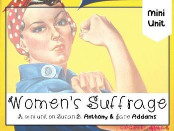 Women's Suffrage {TEKS ALIGNED}