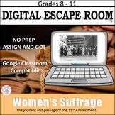 Women's Suffrage Digital Escape Room