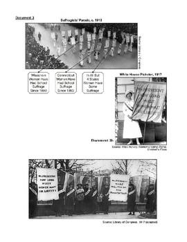 Women's Suffrage Inquiry-Based Common Core Regents