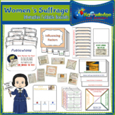 Women's Suffrage Interactive Foldable Booklets