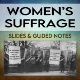 Women's Suffrage Movement Unit (EDITABLE)