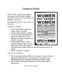 Women's Suffrage Poster & Scoring Guide