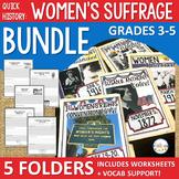 Women's Suffrage Quick History BUNDLE
