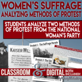 Women's Suffrage The Women's Rights Movement Analyzing the Protests of the NWP