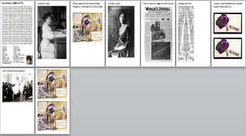 Women's Suffrage in the USA Activity Pack