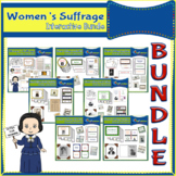 Women's Suffrage Interactive Foldable Booklets BUNDLE
