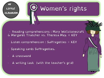 Women's rights/Suffragettes