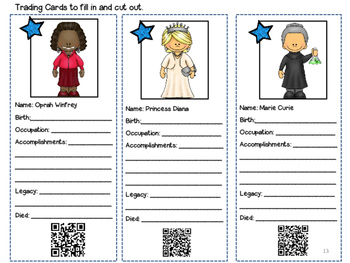 Women's History Month Research and Lap Book Project