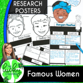 Womens History | Biography Report Template | Women in Science