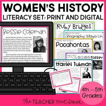 Women's History Literacy Set | Women's History Month
