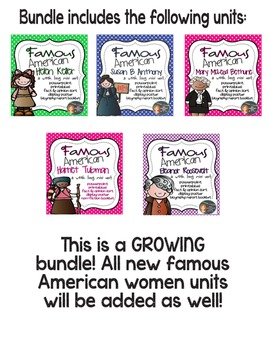 Women's History MEGA Bundle