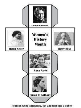 Womens History Month Activity | Famous American Women