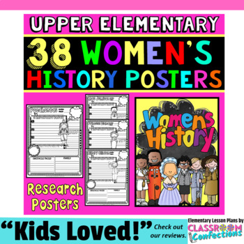 Women's History Month: Biography Research Project