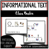 Womens History Month Adapted Biography Clara Barton