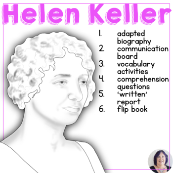 Women's History Month Adapted Biography Helen Keller speci