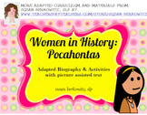 Women's History Month Adapted Biography Pocahontas special