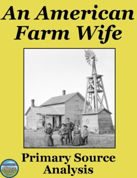 Women's History Month: American Farm Wife Primary Source Analysis